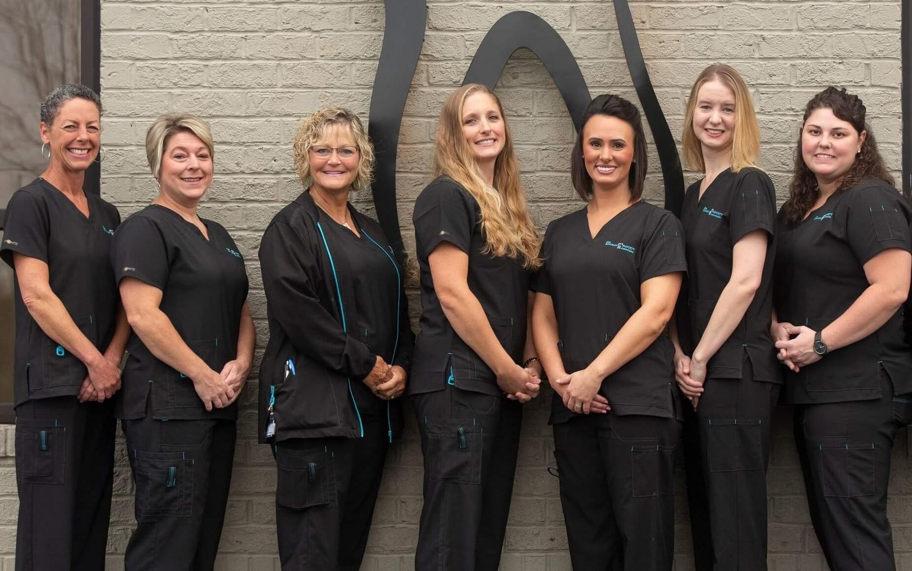 Dental Assistant Team Standing Together